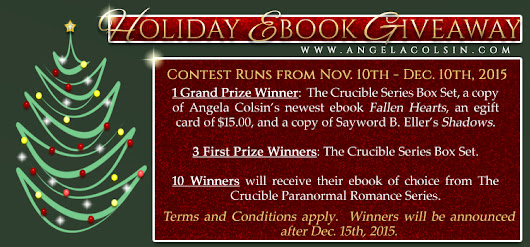 Holiday eBook Giveaway Starts Now!  :)