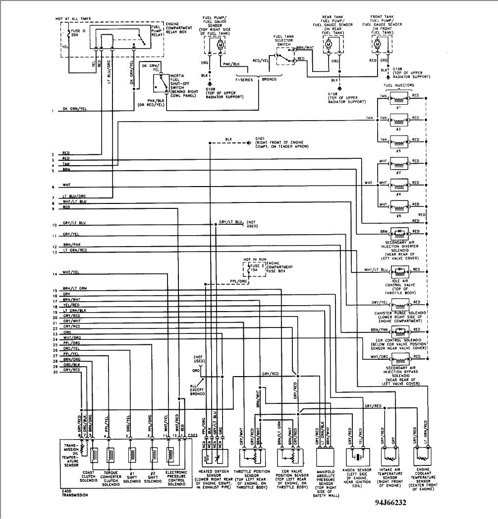 96 Toyotum T100 Engine Diagram