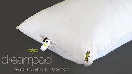 Dreampad Pillow: Reduce Stress. Improve Sleep. Guaranteed.