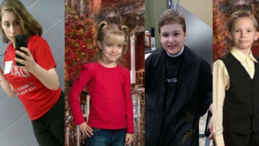 4 abducted kids believed to be traveling to Florida with armed, dangerous man