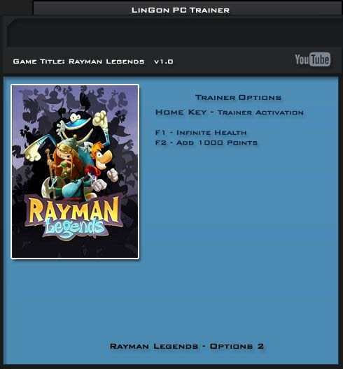 Warriors Orochi 4 V1 0 Plus 18 Trainer: Trainers For Games 2013: Rayman Legends V1.0 Steam +2 Trainer