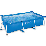 """Intex 86"""" x 59"""" x 23"""" Rectangular Frame Above Ground Baby Swimming Pool (4 Pack) by VM Express"""