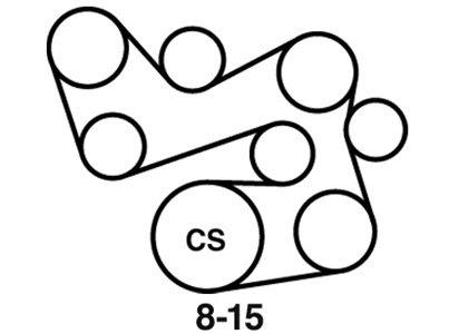 Wiring Diagram Database: 2005 Kia Sorento Belt Diagram
