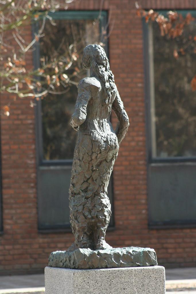 Statue i Ribe