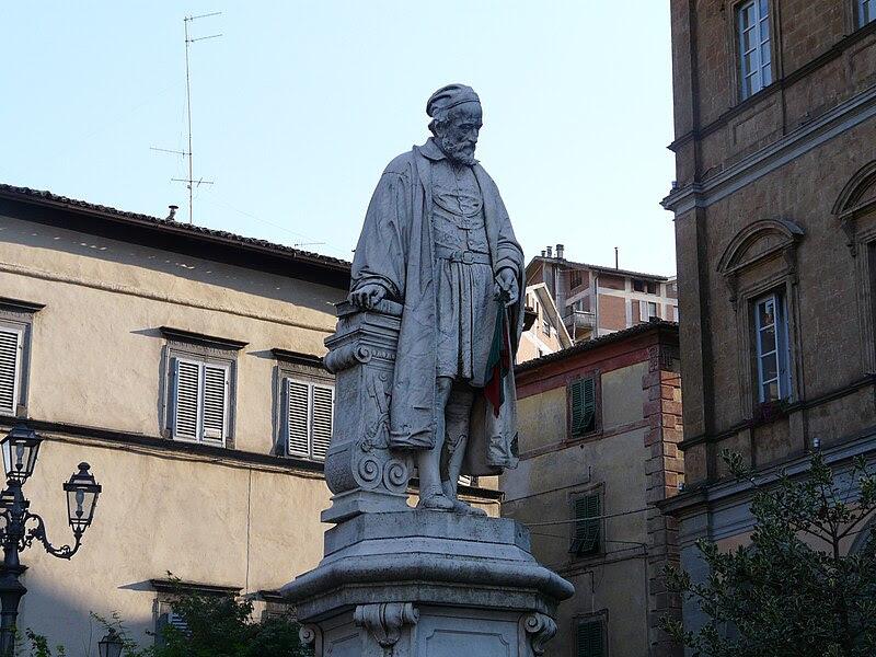 Fil: Acquapendente-Statua Girolamo Fabrizio.jpg