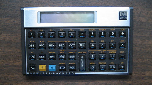 Hewlett Packard 16C Programmer's Calculator