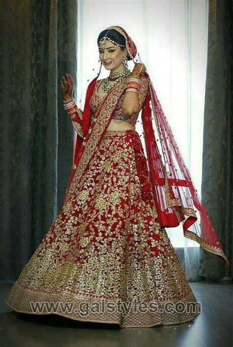 Latest Indian Bridal Dresses Designs Trends 2019