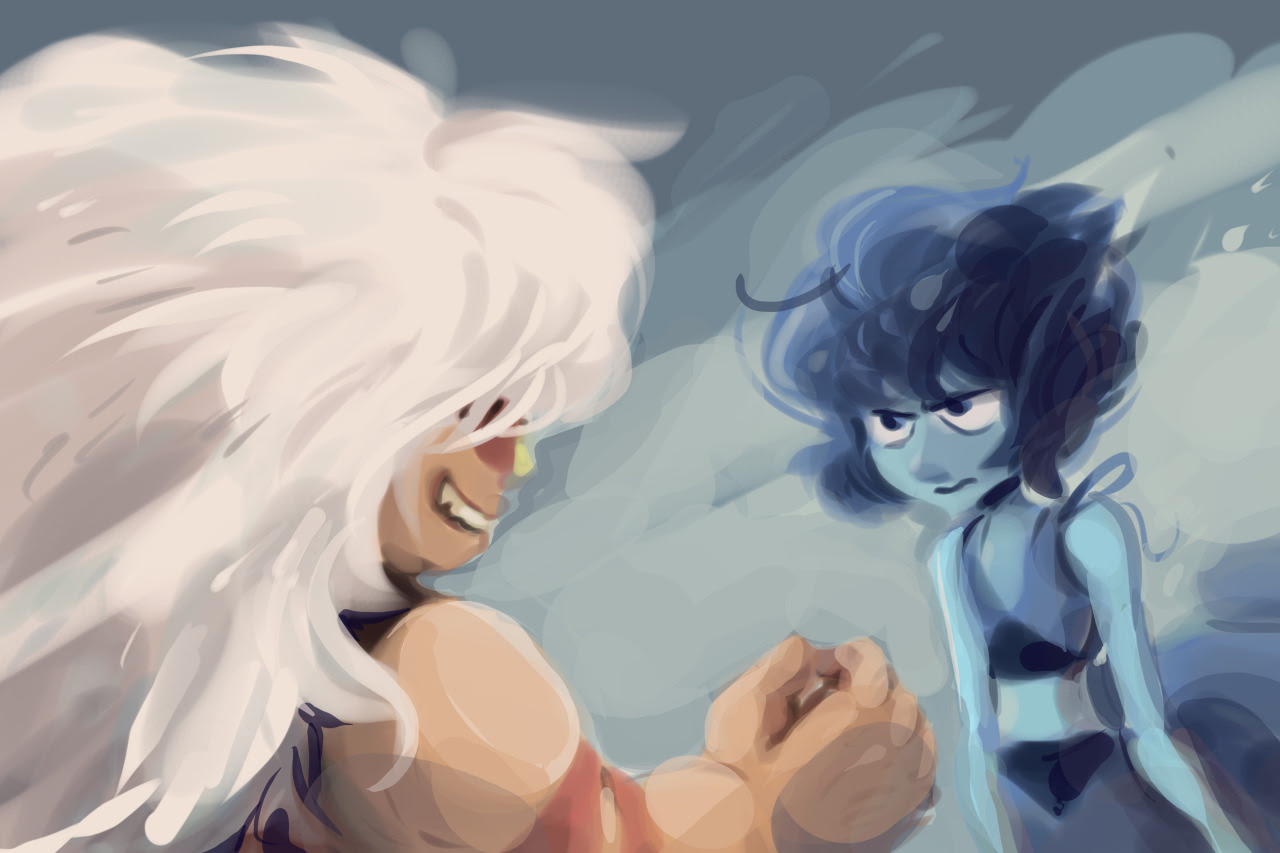 lapis and jasper imagery inspired by an amazing song, halo, by depeche mode. paint tool sai