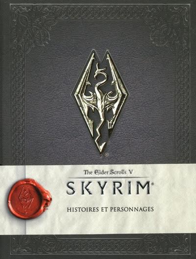 Couverture Skyrim : Histoires et personnages