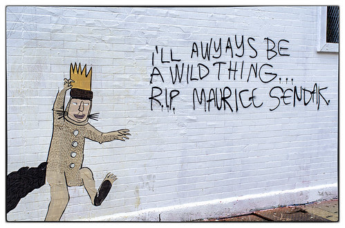 I'll Awyays Be a Wild Thing - RIP Maurice Sendak