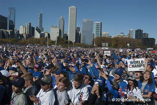 Chicago Cubs World Series Rally 2016 Video