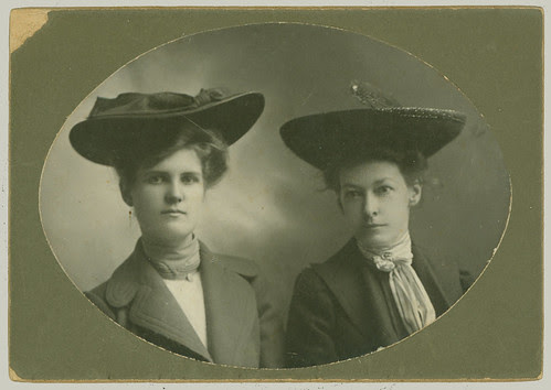Two women in hats