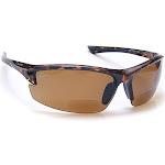 Coyote Eyewear BP-7 +1.50 Polarized Reader Premium Sunglasses, Tortoise & Brown by VM Express