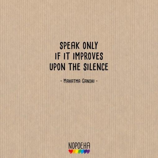 Dont Speak Nopoeha