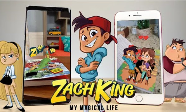 Discover Zach King's magical book and app