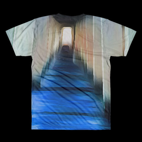 DESIGNER T-SHIRT for Men - Cool Blue Waters | Celestial Clothing Brand | Home