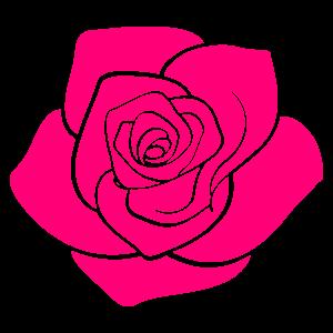 バラの花の無料素材31 花植物イラスト Flode Illustration フロデ
