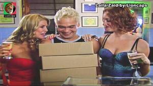 Laila Zaid sensual na novela Bela a Feia