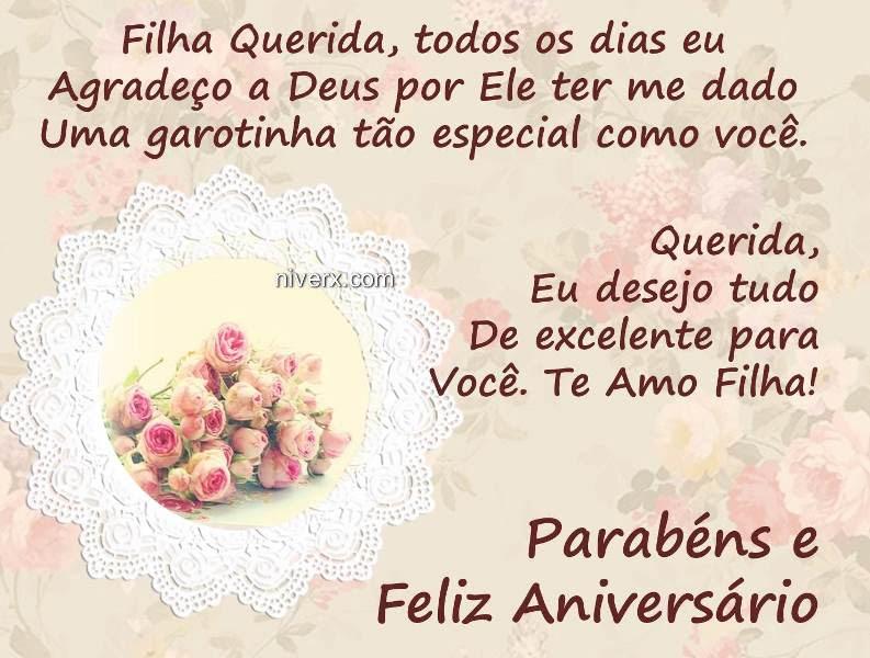 Mensagem De Aniversário Para Filha Evangélica Whatsapp Facebook