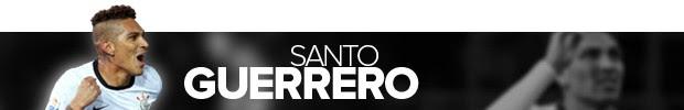 HEADER SANTO GUERRERO (Foto: arte esporte)