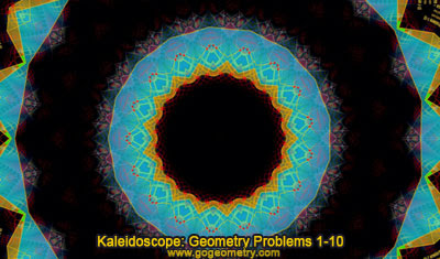 iPad Apps: Geometric Art: Kaleidoscope Geometry Problem 1-10
