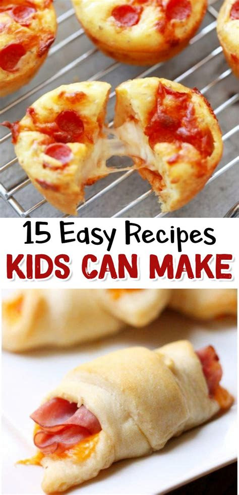 fun easy recipes  kids   recipes kids