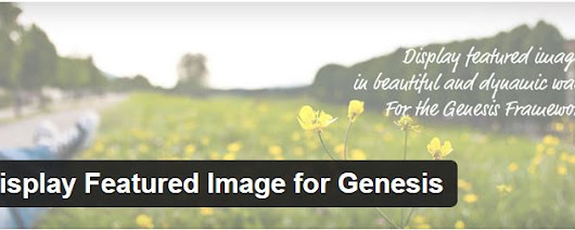 Display Featured Image for Genesis: a WordPress Plugin