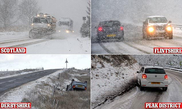 UK weather: Britain braced for sub-zero temperatures