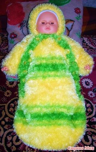 Вязание спицами: Вязаные Вещи Из Травки Для Новорожденных
