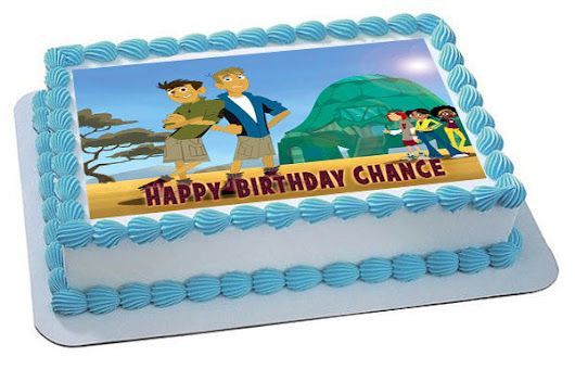 Wild Kratts Characters Edible Birthday Cake Topper OR Cupcake Topper, Decor