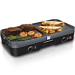Hamilton Beach 38546 3 in 1 Electric Grill/Griddle - 20.1""