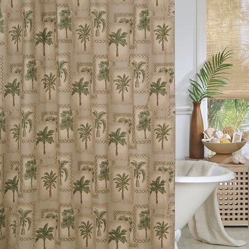 1# Where to buy Palm Tree Shower Curtain | UNNONAME.