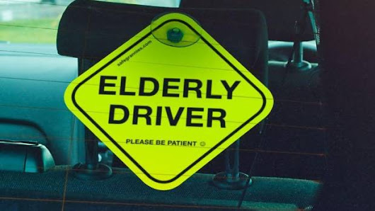 E-plates for elderly drivers touted as a new weapon in war against road rage |