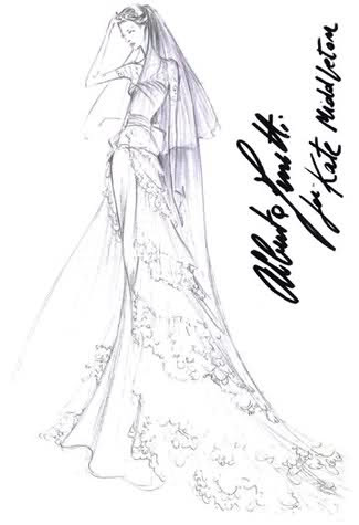 Kate's Wedding Dress :  wedding nyc wedding dress 28ansc0 Image and video hosting by TinyPic