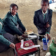 Oh, this? Just some teenage girls from Africa who invented a urine-powered generator.