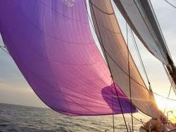 J/122 Junique sailing offshore
