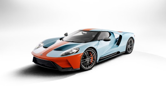 New 2019 Ford GT Heritage Edition Honors Most Famous Paint Scheme in Motorsports | Ford Media Center