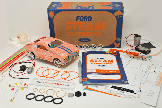 Ford STEAM Experience Box Makes Learning Fun and Easy (Update: Sold Out)