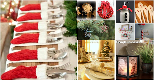 40 Festive Dollar Store Christmas Decorations You Can Easily DIY - DIY & Crafts
