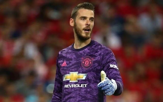 De Gea Confident That Man Utd Can Win EPL, Champions League After New Signings