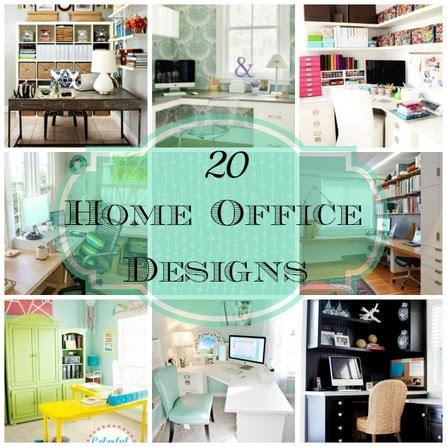 20 Home Office Designs