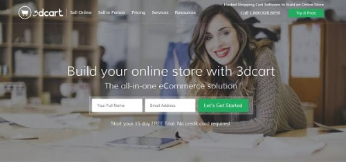 3dcart Website Builder Review