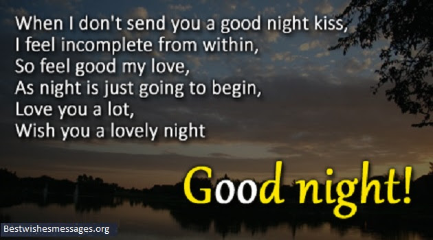 100 Cute Good Night Text Messages Wishes Quotes For Wife Her
