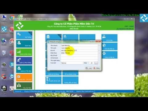 Hướng dẫn sử dụng phần mềm tính tiền nhà hàng chuyên nghiệp DanTriSoft