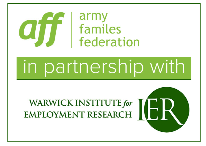 AFF and IER in partnership logos
