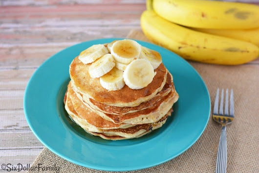 Breakfast Recipes - Easy Banana Pancake Recipe