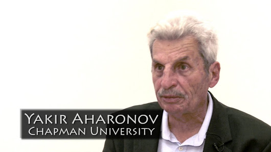An Interview with Yakir Aharonov [Video]