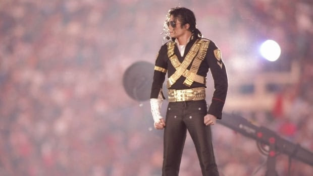 The estate of Michael Jackson, seen here performing during the 1993 Super Bowl halftime show, has agreed to sell the singer's remaining stake in a lucrative Sony/ATV music catalog to Sony Corp. for $750 million US.