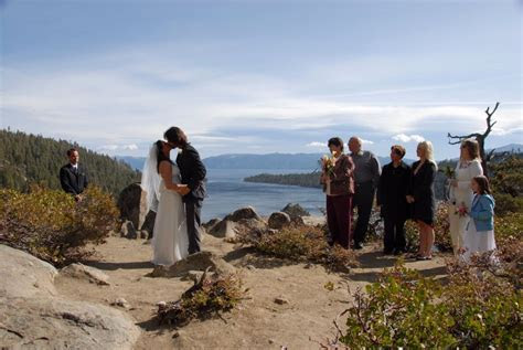 Lake Tahoe   Emerald Bay Wedding   Lake Front Wedding