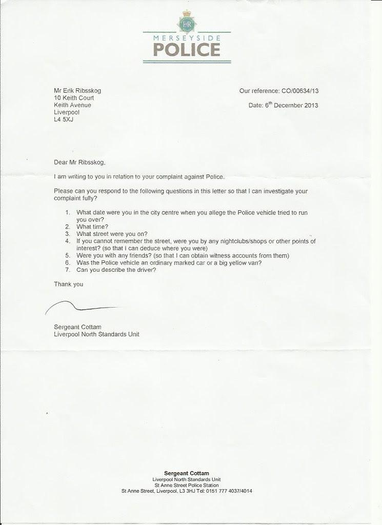 merseyside politiet brev 2